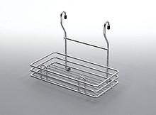 Koszyk zawieszkowy pojedynczy mały metal chrom  Systemy relingowe świetnie wypełniają pustą przestrzeń między szafkami dolnymi a górnymi półkami...