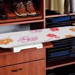 Deska do prasowania IRONFIX obrotowa Doskonale sprawdza się w hotelach, motelach, pensjonatach i domach wczasowych. Oszczędność miejsca i bezpośredni...