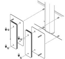 Przedłużenie podstawy pod odważniki do DBLIFT-0019 - Accuride