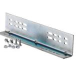 Kątownik umożliwia zamontowanie szuflady na 4 różne sposoby. Długość kątownika musi być dostosowana do długości prowadnicy. Występuje w...