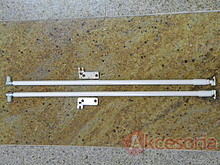 Szuflady Reling Podłużny ZRE Do Metabox WYSOKI Front Dł.55cm Kremowy Blum - Blum