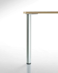 Noga okrągła do blatów stołowych o najwyższej jakości wykonania. Żeliwne mocowania zapewnia całkowitą stabilność stołu-po dłuższym okresie...