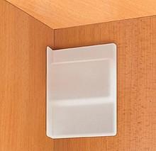 Osłona do zawieszek Camar w kolorze białym. Jest to dodatkowy element do zawieszek do szafek dolnych.