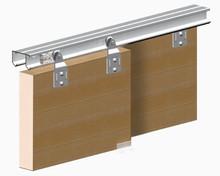 System Horus do drzwiprzesuwnychprzejściowych.  Zastosowanie: - do drzwi z płyty meblowej lub drewna.  Główną zaletą systemu Horus...