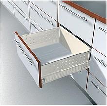 BOXSIDE Z36H Do Metabox Dł.550mm H=128mm Kremowo-Biały - Blum