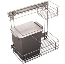 Kosz na śmieci uniwersalny z prowadnicami kulkowymi pełnego wysuwu. Pojemność 12l. Idealne zastosowanie do kuchni w dowolnym miejscu. Wykonany jest z...