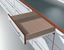 Prowadnice do szuflad Prowadnica rolkowa 230M 40cm 25kg 75%wysuw Kremowo-Biała Blum - Blum