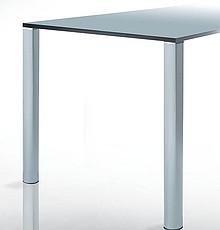 Noga QUADRA TONDA do blatów stołowych o najwyższej jakości wykonania. Niebanalny kształt przyciągający uwagę w każdym zamontowanym miejscu, noga...