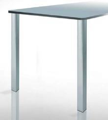 Noga TONDA QUADRA do blatów stołowych o najwyższej jakości wykonania. Niebanalny kształt przyciągający uwagę w każdym zamontowanym miejscu,mogą...