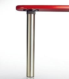 Noga okrągła w kolorze chrom połysk o najwyższej jakości wykonania. Jedyna na rynku noga o tak dużym zakresie regulacji - 23, 5 cm! Specjalny okrągły...