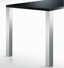 Noga kwadratowa do blatów stołowych o najwyższej jakości wykonania. Żeliwne mocowanie zapewnia całkowitą stabilność stołu-po dłuższym okresie...