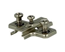 Podstawowy prowadnik do standardowego montażu zawiasów (przykręcane). Współpracuje ze wszystkimi rodzajami zawiasów Salice. Wersja krzyżakowa, mocowana...