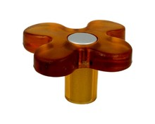 Gałka 8116-50 Z Kolekcji Linoselli Glaseffekt Pomarańczowa - Siro