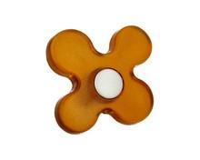 Gałka dziecięca z kolekcji Linoselli Glaseffekt Wykonana z tworzywa sztucznego. W kolorze pomarańczowym Gałka w pomarańczowym kolorze będzie świetnym...