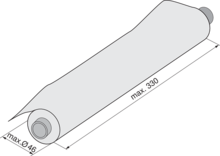 ORGA-LINE Obcinarka Do Folii Aluminiowej Do Tandembox - Blum