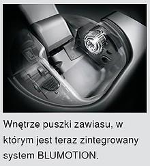 Zawias CLIP Top 110° 71B3750 Z HAMULCEM Drzwi Wpuszczane - Blum