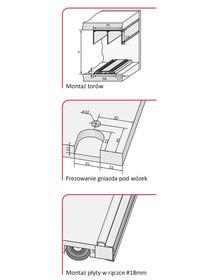 Rączka ERIS Do Drzwi Przesuwnych Srebrna dł.=270 cm - Aluprofil