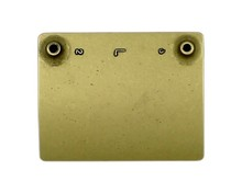 Uchwyty Uchwyt UN03 rozstaw 64mm mosiądz patynowany lewy - Gamet