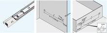 Prowadnice do szuflad Prowadnica kulkowa 3320-50 dł.40cm 60kg Wysuw+100% Acc - Accuride