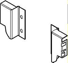 Tandembox ANTARO -Uchwyty ścianki tylnej Z30M h=84mm J.Białe - Blum