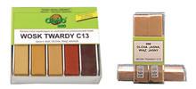 Wosk twardy C 13 Kolor 060 BUK CIEMNY Jest to profesjonalny produkt służący do naprawy uszkodzeń na powierzchniach użytkowych typu: schody, drzwi,...