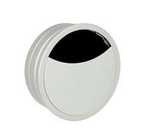 Przepust Aluminiowy fi 60 mm Ze Szczotką Kolor Aluminium - Siso