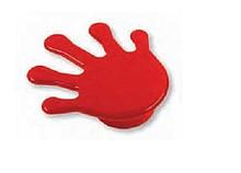 Gałka dziecięca z kolekcji Nursery Wykonana z tworzywa sztucznego.  Gałka w kształcie czerwonej łapki znajdzie zastosowanie przede wszystkim w pokoju...
