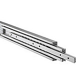 Lekkie prowadnice nierdzewne do dużych obciążeń DA4160 Przystosowane do obciążeń - do 285 kg na parę prowadnic dla długości 45cm. Wysuw pełny 100%...