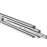 Lekkie prowadnice nierdzewne do dużych obciążeń DA4160 Przystosowane do obciążeń - do 300 kg na parę prowadnic dla długości 50cm. Wysuw pełny 100%...