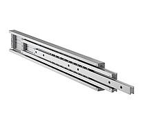 Lekkie prowadnice nierdzewne do dużych obciążeń DA4160 Przystosowane do obciążeń - do 230 kg na parę prowadnic dla długości 100cm. Wysuw pełny 100%...