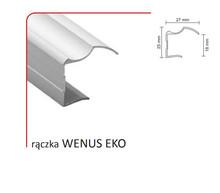 Rączka WENUS EKO 18/P (Profil) do drzwi przesuwnych wykonanych z płyty o grubości 18 mm.  Linia PREMIUM 75   Długość 270 cm. Wykonana z aluminium...