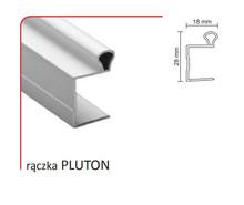 Rączka PLUTON 16/P Do Drzwi Przesuwnych Srebrna dł. 270 cm - Aluprofil