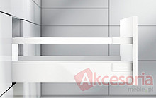 Relingi Kwadrat ZRG.487 Białe Podłuż.Do Tandembox ANTARO dł.55cm - Blum