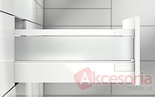 Relingi Kwadrat ZRG.587 Białe Podłuż.Do Tandembox ANTARO dł.65cm - Blum