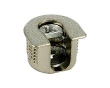 Złącze mimośrodowe standarowe SV20 typ1 do połączeń elementów meblowych pod kątem 90 stopni. Niewidoczne od zewnętrznej strony mebla. Do płyty o...