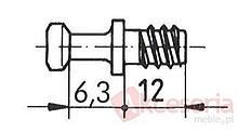 Złączki Montażowe Złącze Mimośrodowe METALOWE SV20/1 Do Płyty od 18mm Standardowe - Würth