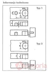 Złączki Montażowe Trzpień Mocujący Do Złączy Mimośrodowych SV20 TYP 1 i 2 - Würth