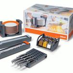 Zestaw 7 produktów ORGA-LINE Elementy zestawu: 1. Obcinarka folii spożywczej ZSZ.01F0 - 1szt 2. Obcinarka folii aluminiowej ZSZ.02F0 - 1szt 3. Uchwyt na...