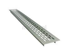 Kratka Wentylacyjna 60/480mm Aluminiowa Kolor ALUMINIUM - Rejs