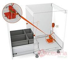 Zestaw SERVO- DRIVE do pojedynczej szuflady Tandembox na sortowniki śmieci. Nowa znacznie tańsza wersja. Zestaw zawiera wszystkie komponenty ,...