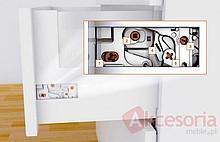 Tandembox ANTARO Boki Wys.M=83mm dł.65cm J.Białe Blum - Blum