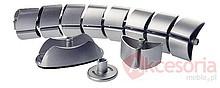 Prowadzenie Kabli OVAL Srebrny - Siso
