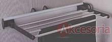 Wieszak wysuwny na spodnie J0301.  Kolor pokrycia - aluminium. Wymiary - 450 x 215 x 81 mm  Pozwala optymalnie wykorzystać dostępną przestrzeń.