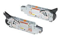 Siłowniki 20F2200.05 z białymi zaślepkami 20F8000 to element systemu AVENTOS HF. Aventos HF unosi i składa w środku dwuczęściowy front podczas...