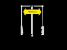 Pantograf stalowy czarny szerokość 83-115cm - Valcomp