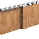 System do lekkich drzwi przesuwnych do szafek, pawlaczy, i niskich zabudów wnętrz. System charakteryzuje się cichym i łatwym przesuwem. Firma VALCOMP...