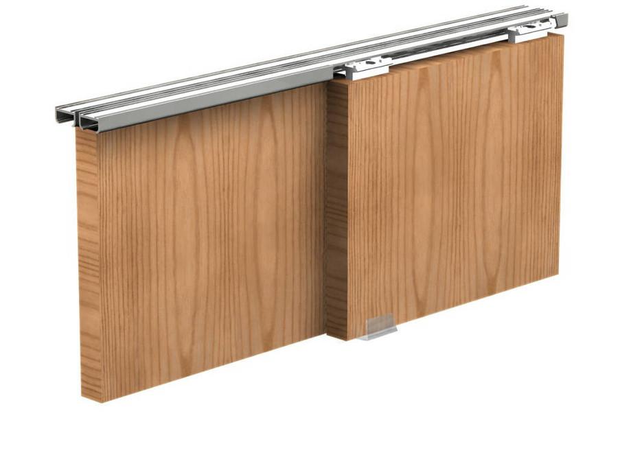 Apis zestaw ap12 do 2 szt drzwi przesuwanych d 120cm 9 - Porte pour petit placard ...