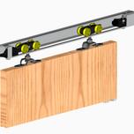System Herkules do drzwiprzesuwnychprzejściowych.  Zastosowanie: - do drzwi z płyty meblowej, drewna,metalu czy też kompozytów. ...