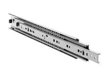 Prowadnice DZ7957 do ciężkich i szerokich szuflad z funkcją rozłączania Długość 660,4 mm Udźwig 160kg Funkcja rozłączania umożliwia rozdzielenie...