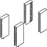 BOXCOVER Z36L przedni i tylny do Tandembox INTIVO H =100 mm Materiał: tworzywo sztuczne/stal Kolor / Powierzchnia: inox Przeznaczone do montażu samodzielnie...